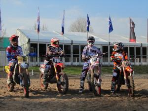 Davey Janssen,Lars van Berkel, William Saris, Erik de Bruyn 2013